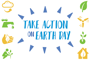 Take action on earth day