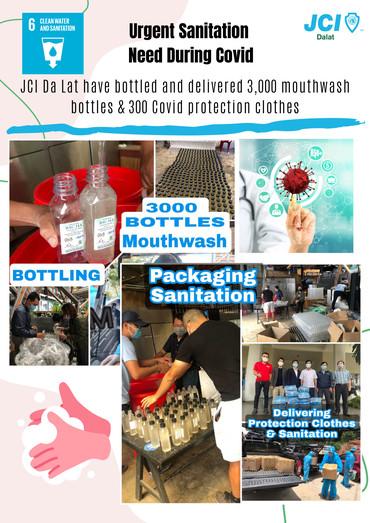 3  sanitation